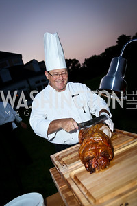 Chef Cyle Shapiro. Photo by Tony Powell. Sheila Johnson's family and friends launch of Salamander Resort & Spa. August 29, 2013