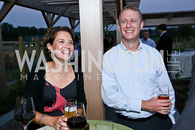 Jamie and Gene Weissman. Photo by Tony Powell. Sheila Johnson's family and friends launch of Salamander Resort & Spa. August 29, 2013