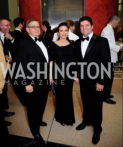 Mike Blank,Rita Marques,Eduardo Marques,April 22,2013,Signature Theatre Sondheim Award Gala,Kyle Samperton
