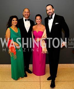 Aisha  Masood,Akbar Masood,Sara Jaffe,David Ostroff,April 22,2013,Signature Theatre Sondheim Award Gala,Kyle Samperton