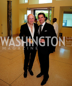 Victor Shargai,Dirk Burghartz,April 22,2013,Signature Theatre Sondheim Award Gala,Kyle Samperton