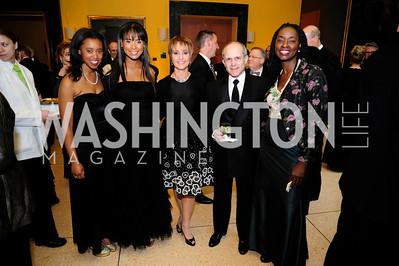 Maci Petterson,Katie Roost,Bonnie Feld ,Ken Feld,Rynthia Roost,April 22,2013.,Signature Theatre Sondheim Award Gala,Kyle Samperton