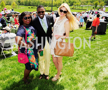 Makeda Saggau-Sackey,Phaon Spurlock,Ashley Marshall,,May 4 2013,Spring Gold Cup Races,Kyle Samperton