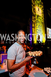 Cakelove's Warren Brown. Photo by Tony Powell. 2013 St. Jude Gourmet Gala. Building Museum. February 12, 2013