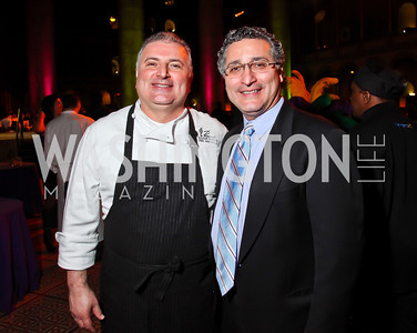 Peacock Cafe's Maziar and Shahab Farivar. Photo by Tony Powell. 2013 St. Jude Gourmet Gala. Building Museum. February 12, 2013