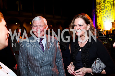 Ed and Karen Eberhart. Photo by Tony Powell. 2013 St. Jude Gourmet Gala. Building Museum. February 12, 2013