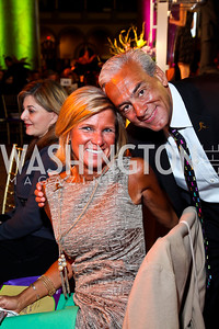 Ann and Rick Shadyac. Photo by Tony Powell. 2013 St. Jude Gourmet Gala. Building Museum. February 12, 2013