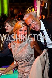Ann and Rick Shadyac. Photo by Tony Powell. 2013 St. Jude Gourmet Gala. Building Museum. February 12, 2013