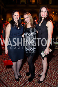 Liliana Baldassari, Pilar O'Leary, Alex Migoya. Photo by Tony Powell. 2013 St. Jude Gourmet Gala. Building Museum. February 12, 2013