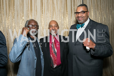 Mike Flood, Stephen White, El Shabazz. Photo by Alfredo Flores. Standing Ovation for DC Teachers. Kennedy Center Concert Hall. November 5, 2013