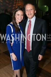 Sally Ein, Mark Ein. Photo by Alfredo Flores. Standing Ovation for DC Teachers. Kennedy Center Concert Hall. November 5, 2013