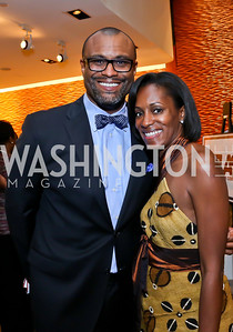 Jason Turner, Jackie Francis. Photo by Tony Powell. 2013 Step Afrika Gala. Atlas Performing Arts Center. June 6, 2013