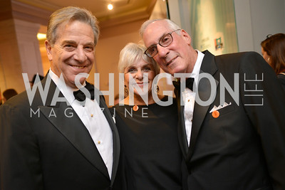 Paul Pelosi, Zina Kramer, Michael Kramer, Steven Spielberg at the National Archives. November 19, 2013.  Photo by Ben Droz.