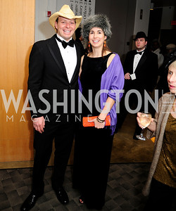 Sean Durkin,Martha Jane Durkin,February 9,2013,Studio Theatre Mad Hat Gala .Kyle Samperton