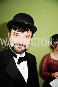 Paata Tskurishvili,February 9,2013,Studio Theatre Mad Hat Gala .Kyle Samperton