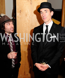 David Muse,February 9,2013,Studio Theatre Mad Hat Gala .Kyle Samperton