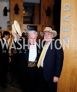 Hugh Hill,Bruce Bartels,February 9,2013,Studio Theatre Mad Hat Gala .Kyle Samperton
