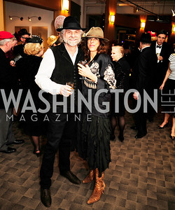 Ken Grossinger,Micheline Klagsbrun,February 9,2013,Studio Theatre Mad Hat Gala .Kyle Samperton