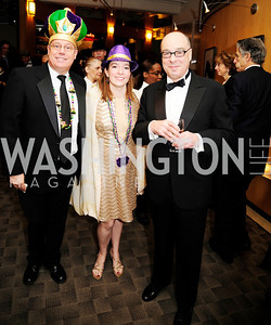 John Danforth,Carol Arthur,Gary Rossberg,February 9,2013,Studio Theatre Mad Hat Gala .Kyle Samperton