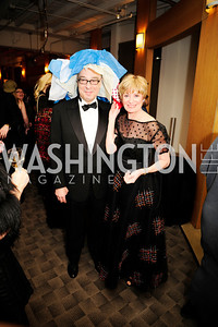 Gerry Rossberg,Laura Rossberg,February 9,2013,Studio Theatre Mad Hat Gala .Kyle Samperton