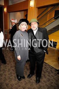 Joy Zinoman,Murray Zinoman,February 9,2013,Studio Theatre Mad Hat Gala .Kyle Samperton