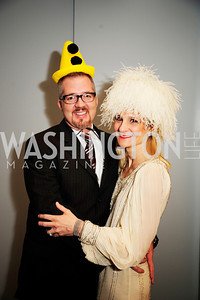 Guy Williams,Kat Williams,February 9,2013,Studio Theatre Mad Hat Gala .Kyle Samperton