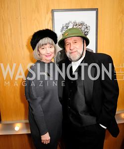 Joy Zinoman,Murray Zinoman,February 9,2013,Studio Theatre Mad Hat Gala .Kyle Samperton