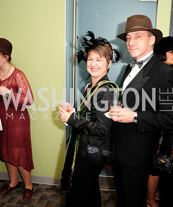 Dorothy Kosinski,Thomas Krahenbuhl,February 9,2013,Studio Theatre Mad Hat Gala .Kyle Samperton