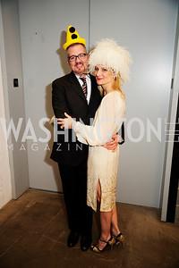 Guy Williams,Kat Williams,February 9,2013,Studio Theatre Mad Hat Gala .Kyle Samperton