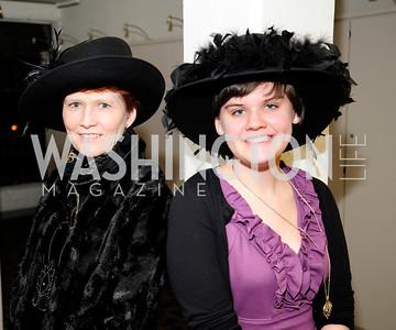 Jane Dunne,Ana -Claire McGrath,February 9,2013,Studio Theatre Mad Hat Gala .Kyle Samperton