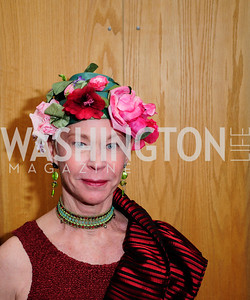 Betsy Stewart,February 9,2013,Studio Theatre Mad Hat Gala .Kyle Samperton