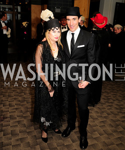 Kate Perry,David Muse,February 9,2013,Studio Theatre Mad Hat Gala .Kyle Samperton
