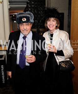 Otho Eskin,Therese Keane,February 9,2013,Studio Theatre Mad Hat Gala .Kyle Samperton