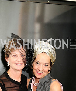 Liz Cullen,Caroline Hipple,February 9,2013,Studio Theatre Mad Hat Gala .Kyle Samperton