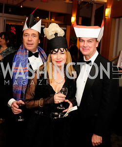 Cookie Jacobs,Kate Perry Keith Allen,February 9,2013,Studio Theatre Mad Hat Gala .Kyle Samperton