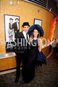 David Muse,Angela Fox,February 9,2013,Studio Theatre Mad Hat Gala .Kyle Samperton