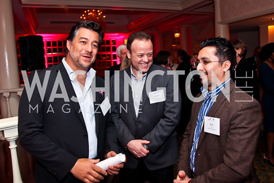 Jeff Hamaoui, Ronald Garan, Mihir Shah. Photo by Tony Powell. Susan G. Komen for the Cure Global Women's Cancer Summit. Fairmont Hotel. February 3, 2013