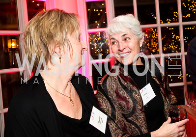 Marlene Temmerman, Vivien Tsu. Photo by Tony Powell. Susan G. Komen for the Cure Global Women's Cancer Summit. Fairmont Hotel. February 3, 2013