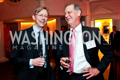 Brian Hook, Mark Nadolny. Photo by Tony Powell. Susan G. Komen for the Cure Global Women's Cancer Summit. Fairmont Hotel. February 3, 2013