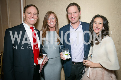 Elizabeth Centenari, Paul Centenari, J.M. Schapiro, Mindy Schapiro. Photo by Alfredo Flores. Taste of the Stars for Starlight Children's Foundation. Four Seasons. November 23, 2013
