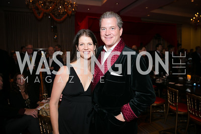 Meagan Nix, Nels Olson. Photo by Alfredo Flores. Taste of the Stars for Starlight Children's Foundation. Four Seasons. November 23, 2013