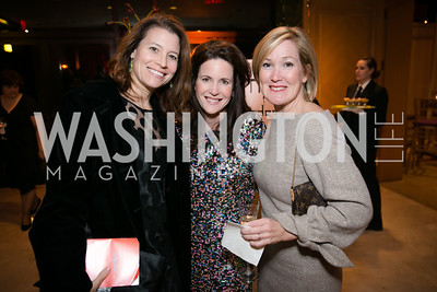 Jennifer Ivas, Paige Ralston Fromer, Rebecca Nichols. Photo by Alfredo Flores. Taste of the Stars for Starlight Children's Foundation. Four Seasons. November 23, 2013.