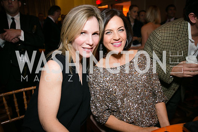 Ann Magruder, Elizabeth Burks. Photo by Alfredo Flores. Taste of the Stars for Starlight Children's Foundation. Four Seasons. November 23, 2013