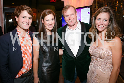 Phil Musser, Heather Musser, Sarah Wallerstein, Ben Wallerstein. Photo by Alfredo Flores. Taste of the Stars for Starlight Children's Foundation. Four Seasons. November 23, 2013.CR2