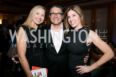 Michelle Guitierrez, Leo Guitierrez, Ann Kane. Photo by Alfredo Flores. Taste of the Stars for Starlight Children's Foundation. Four Seasons. November 23, 2013