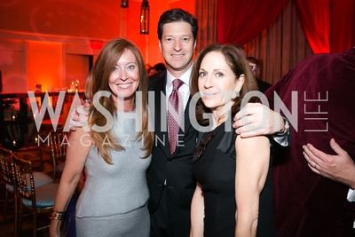 Robin Stein, Kevin Stein, Elizabeth Stein. Photo by Alfredo Flores. Taste of the Stars for Starlight Children's Foundation. Four Seasons. November 23, 2013
