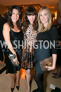 Steph Polis, Elizabeth Moeller, Britlan Malek. Photo by Alfredo Flores. Taste of the Stars for Starlight Children's Foundation. Four Seasons. November 23, 2013