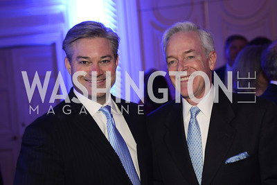 Mark Lowham, Christopher Ritzert,  Teach For America Gala, Omni Shoreham, March 11, 2013, Photo by Ben Droz,