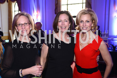 Debby Nichols, Katherine Bradley, Ginger Pape, Teach For America Gala, Omni Shoreham, March 11, 2013, Photo by Ben Droz,