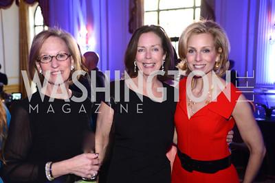 Debby Nichols, Katherine Bradley, Ginger Pape, Teach For America Gala, Omni Shoreham, March 11, 2013, Photo by Ben Droz,